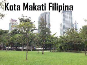 Kota Makati Filipina