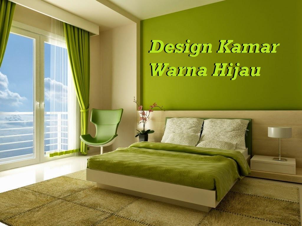 Design Kamar Warna Hijau
