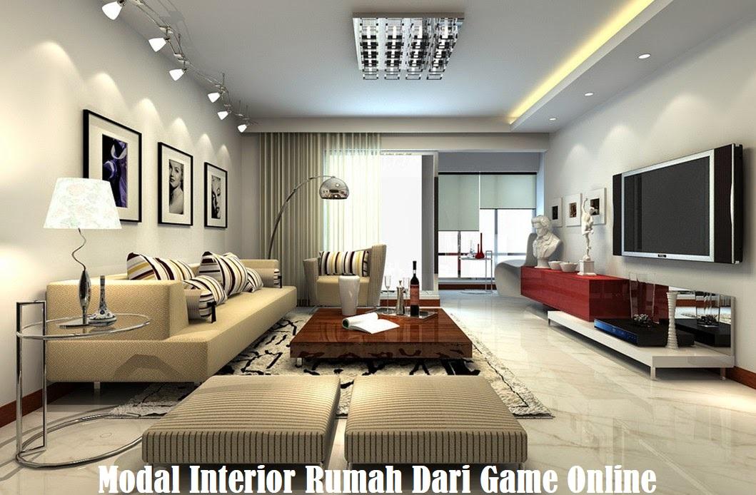Modal Interior Rumah Dari Game Online