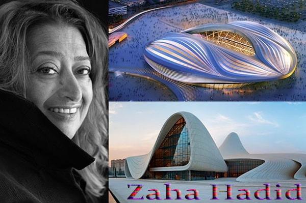 Karya Megah Zaha Hadid